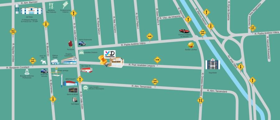 Mapa XD Grafica